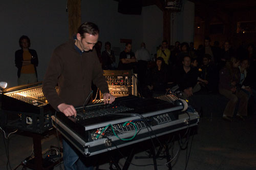 andreas glauser (ch): manipulated mixing desks